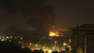 Photo of قصف محيط السفارة الأمريكية في بغداد بصاروخين