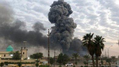 Photo of استهداف قاعدة عسكرية في العراق من قبل طائرة مجهولة
