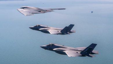 Photo of لأول مرة تدريب مشترك  لمقاتلةB-2 مع مقاتلة F-35 البريطانية ..فيديو