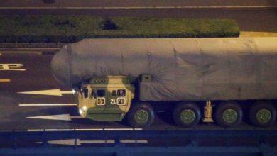 Photo of صاروخ صيني مرعب ظهر بالخطأ في إحدى الفيديوهات