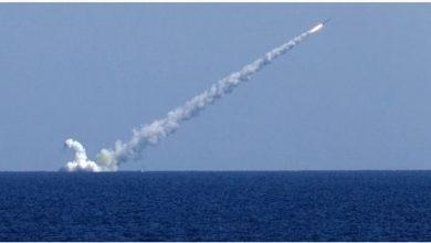 """Photo of سفن روسية تطلق صواريخ """"كاليبر"""" المجنحة في البحر المتوسط"""