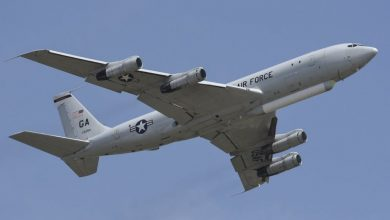 Photo of رصد طائرة مراقبة أمريكية من طراز E-8C قرب روسيا