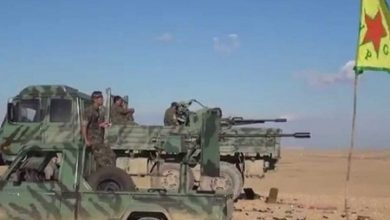 """Photo of اشتباكات بين الجيش السوري و""""قسد"""" قرب حقل نفطي وطائرات أمريكا تتدخل"""