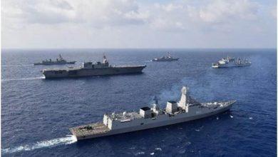 Photo of تعرف على السفن الحربية الصينية من الفئة 055