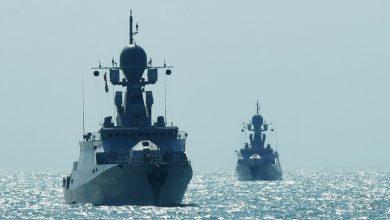 Photo of روسيا تحتفل بمرور ثلاثة قرون على تأسيس اسطول بحر قزوين