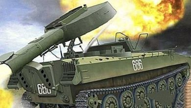 "Photo of UR-77 ""Meteorit""مركبة إزالة الألغام ذاتية الحركة..مميزات وقدرات"