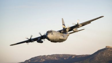 Photo of سقوط طيار من طائرة C-130 العسكرية أثناء التدريب فوق خليج المكسيك