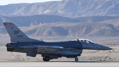Photo of طائرة F-16 الأمريكية المقاتلة تصل إلى إسرائيل