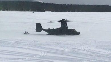 Photo of سلاح الجو الأمريكي يختبر نظام تحميل الثلج الجديد للطائرة CV-22