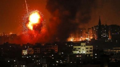 Photo of مقاتلات إسرائيلية تغير على غزة ليلا