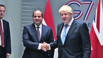 Photo of توافق مصري بريطاني على العمل لوقف التدخلات الخارجية في ليبيا