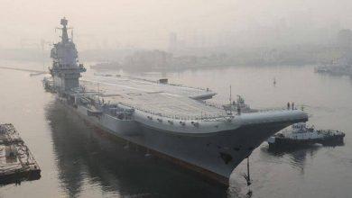 """Photo of حاملة الطائرات """"شاندونغ"""" تدخل الخدمة في اسطول الصين"""