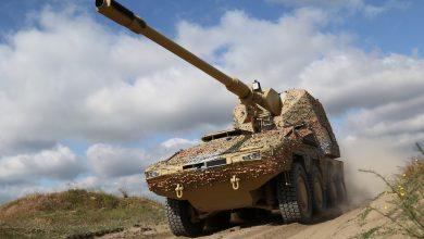 Photo of المدفع الالماني هاوتزر ذاتي الدفع المدولب  Boxer RCH 155