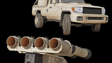 Photo of صاروخ جدارا ترمينيتر ألاردني