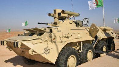 """Photo of الجزائر تحدث المدرعة """"بي تي إر-80″وترفع قدرات تسليحها..صور وفيديو"""