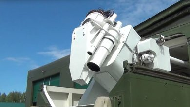 """Photo of روسيا تبدأ بإستخدام الليزر القتالي """"بيريسفيت""""لتدمير طائرات وصواريخ العدو"""