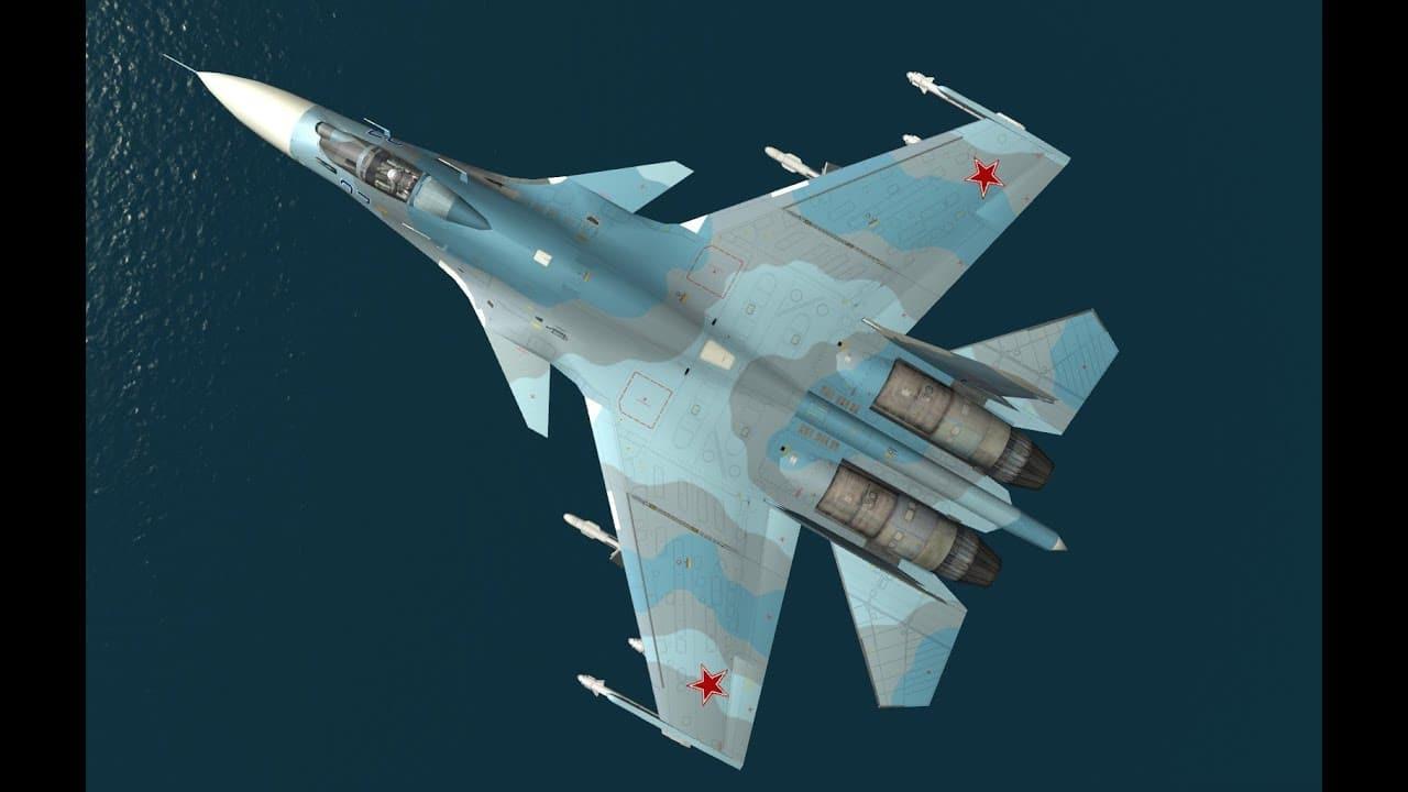 SU-33 المقاتلة الأكثر قوة على المدى الطويل والقوية في العالم -