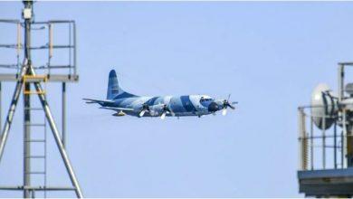 Photo of طائرة P-3 الإيرانية تحلق بالقرب من سفن حربية أمريكية بشكل خطير