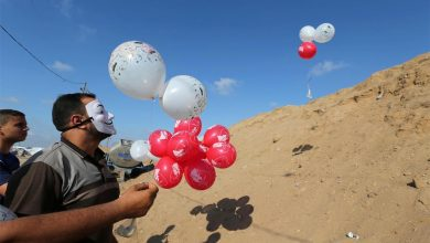 Photo of استئناف هجوم غزة على إسرائيل بالبالونات الحارقة