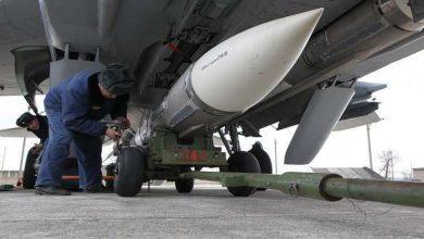 """Photo of بوتين يشرف على مناورة لأطلاق صاروخ """"كينجال"""" في البحر الأسود"""