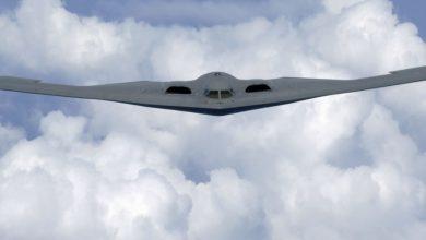 Photo of القوات الجوية الأمريكية تطلق فيديو مذهل للطائرة الشبح  B-2