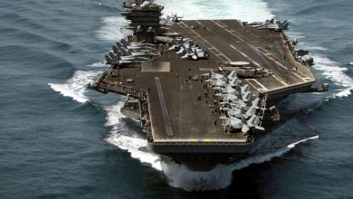 "Photo of إيران تخطط لإغراق ""حاملة طائرات""أمريكية"