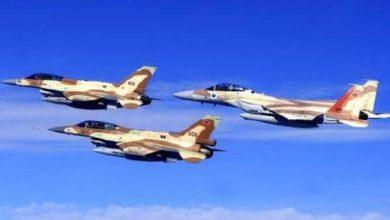 Photo of محيط مطار دمشق ,,,  غارات إسرائيلية استهدفت مستودعات أسلحة