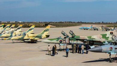 Photo of طائرات الجيش الليبي تغير على قواعد للميليشيات بدرنة