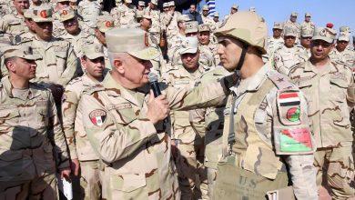Photo of مناورات للجيش الميداني الثاني المصري على تنفيذ المهام القتالية