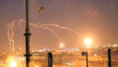 Photo of انفجارات تهز قاعدة للتحالف الأمريكي في بغدادوالخسائر مجهولة