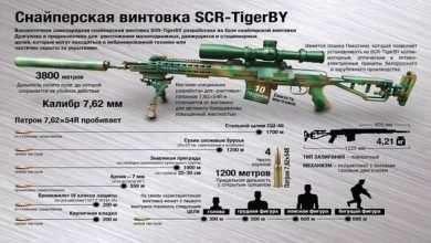 Photo of بندقية قنص بيلاروسية جديدة مطورة عن بندقية دراغونوف
