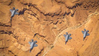 Photo of إسرائيل و الولايات المتحدة تجريان تمرين (البرق المتواصل) لطائراتهما من نوع  إف 35