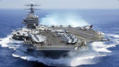 Photo of حاملة طائرات  ذرية أمريكية تدخل المتوسط وتتجه للخليج
