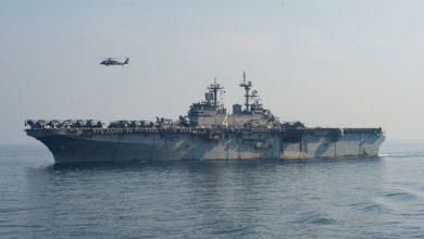 Photo of حاملة طيران أمريكية تدخل مياه البحر المتوسط