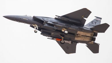 Photo of تحليق طائرة F-15E بقنبلة B61-12 نوويه خامله