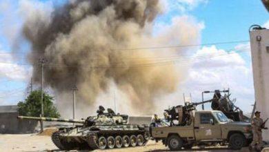 Photo of احتدام المعارك الشرسة في ليبيا والهدف قاعدة الوطية