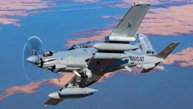 Photo of القوات الجويه الأمريكيه تشري طائرتين من طراز Textron AT6