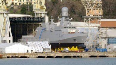 "Photo of صور ""أول سفينة حربية""من نوع كورفيت صنعت لقطر"