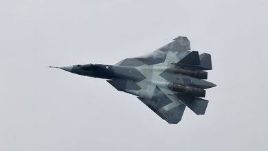 Photo of فيديو يظهر مهارة طياري سو57 ومميزات المقاتلة الرائعة