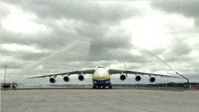 Photo of أضخم طائرة نقل في العالم تحلق لأول مرة..فيديو