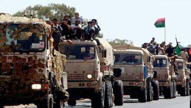 Photo of الجيش الليبي يرسل تعزيزات برية الى سرت