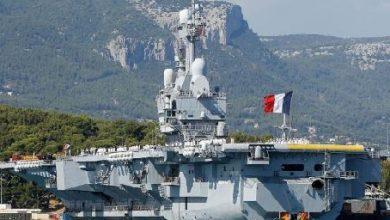 Photo of الاعلان عن 50 اصابة كورونا على متن حاملة الطائرات الفرنسية (شارل ديغول)