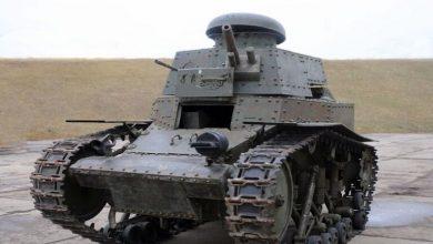"""Photo of روسيا ترمم أول دبابة سوفيتية من طراز""""إم إس – 1″ للمشاركة بأعياد النصر"""