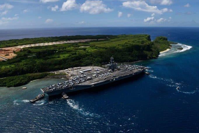 """155 مصابا بكورونا على متن حاملة الطائرات """"USS Theodore Roosevelt"""""""