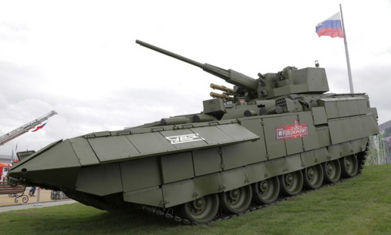 Armata مركبة قتال روسية عالية الحماية ومميزات خاصة