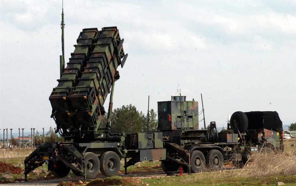 أهداف نشر بطاريات الصواريخباتريوتفي العراق