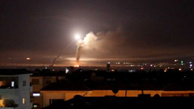 Photo of إنفجارات تهز محيط دمشق جراء هجوم صاروخي إسرائيلي ..فيديو