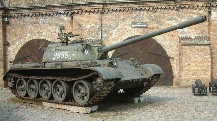 """دبابة """"تي – 55"""""""