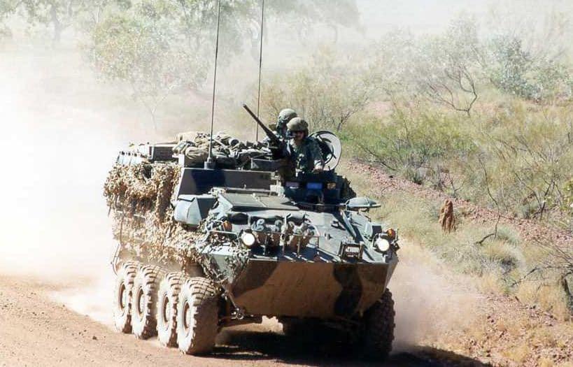 ASLAV-PC نقلة جنود أسترالية مدرعة ..وهذه مواصفاتها