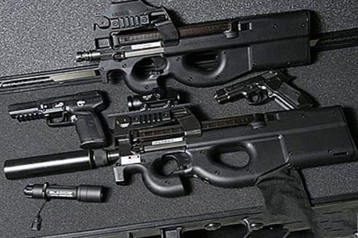 الرشاش البلجيكي البلجيكي FN P90..لمحة على خصائصه المميزة